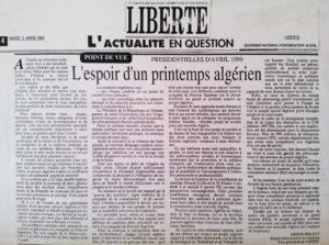 liberté- l'espoir d'un printemps algérien